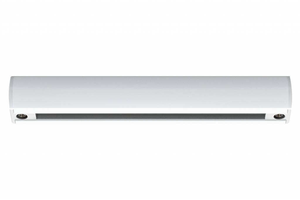 Paulmann URail System Schiene 0,1m Weiß 230V Metall