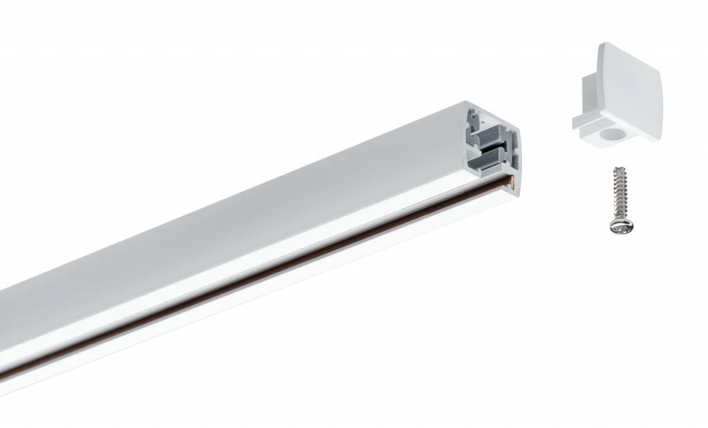 Paulmann URail Universal Endcap 2er Pack Weiß Kunststoff