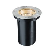 Bodeneinbauleuchten-Set Special Line 230 V LED Warmweiß, Edelstahl, 1er Set