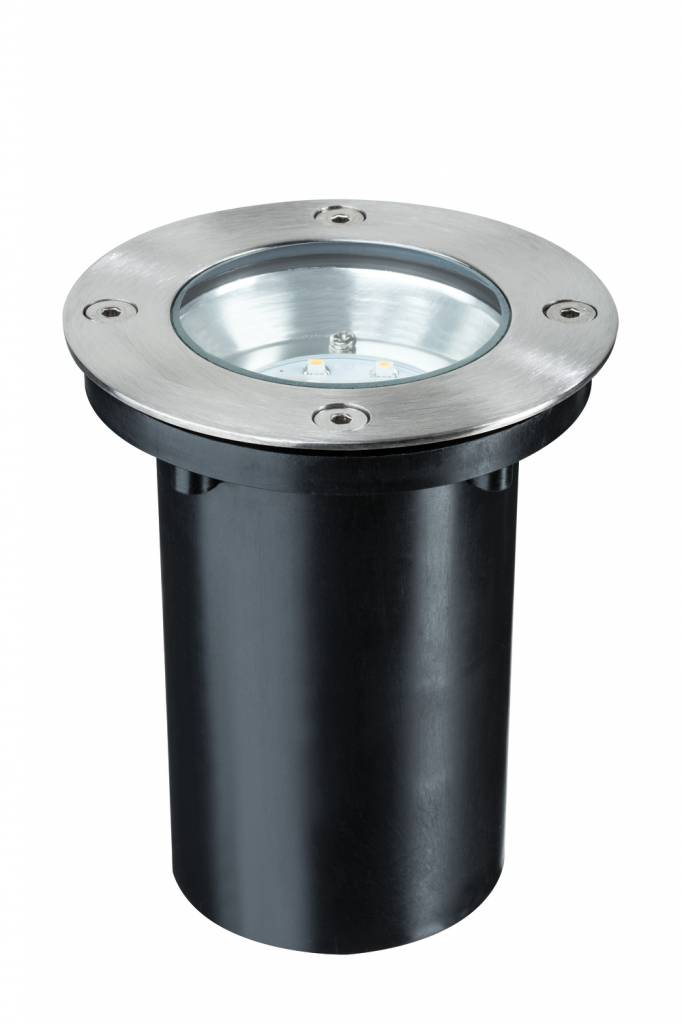 Paulmann Bodeneinbauleuchten-Set Special Line 230 V LED Warmweiß, Edelstahl, 1er Set