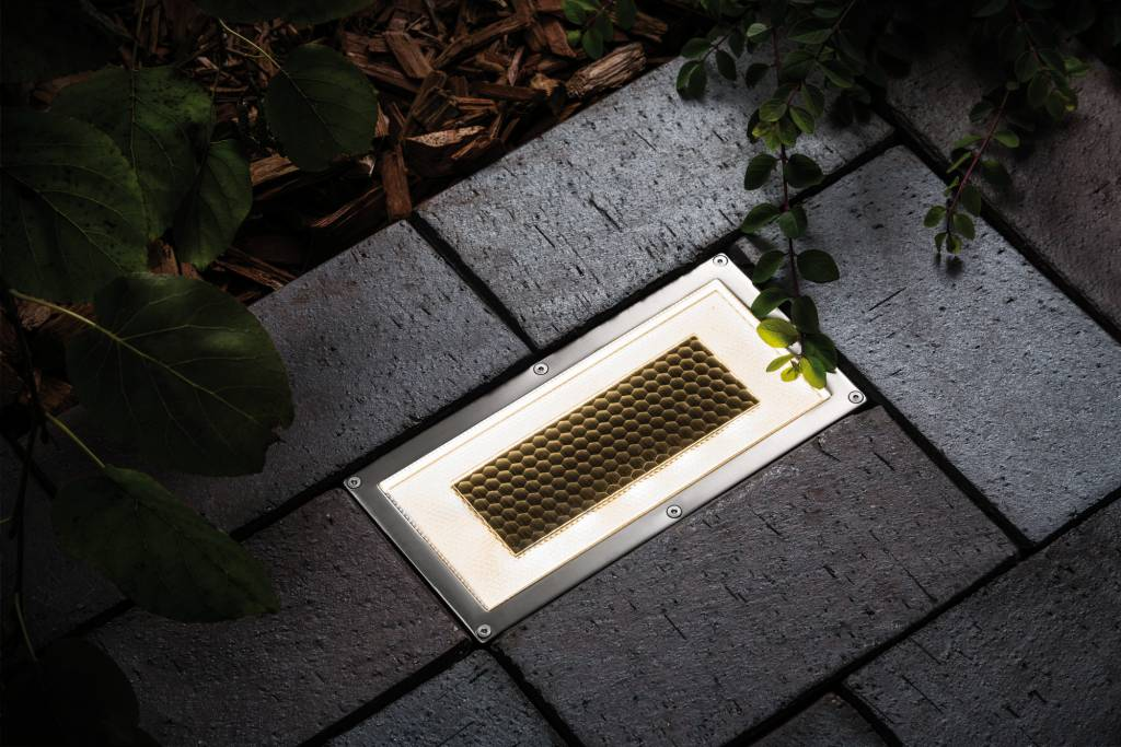 Paulmann Bodeneinbauleuchten-Set Solar Box LED Edelstahl, 1er Set