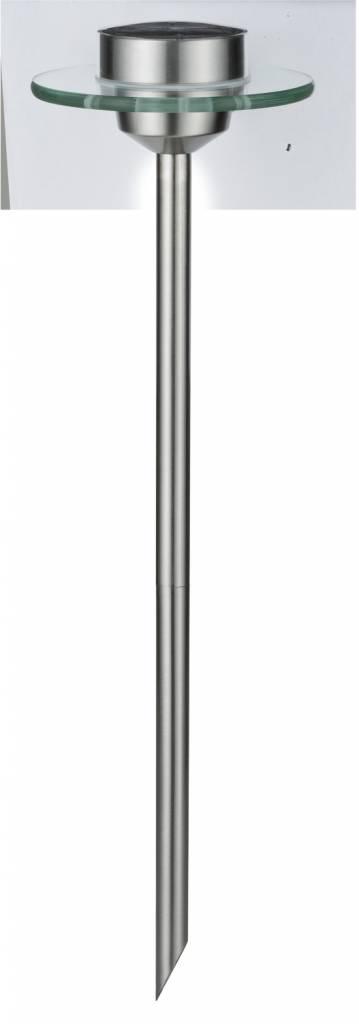 Paulmann Outdoor Solarspieß Special Line Ufo LED Edelstahl, Klar, 1er Set