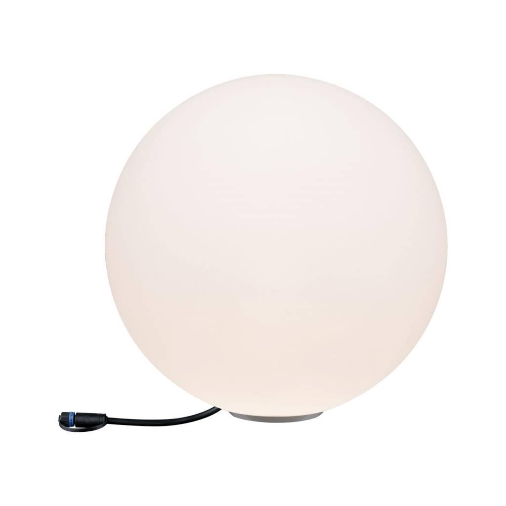 Paulmann Plug & Shine Lichtobjekt Globe IP67 3000K 24V Durchmesser 40cm