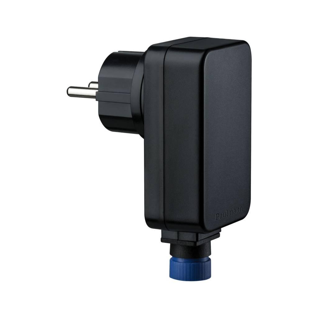 Paulmann Plug & Shine Power Supply IP44 21W 24V DC mit Stecker Schwarz