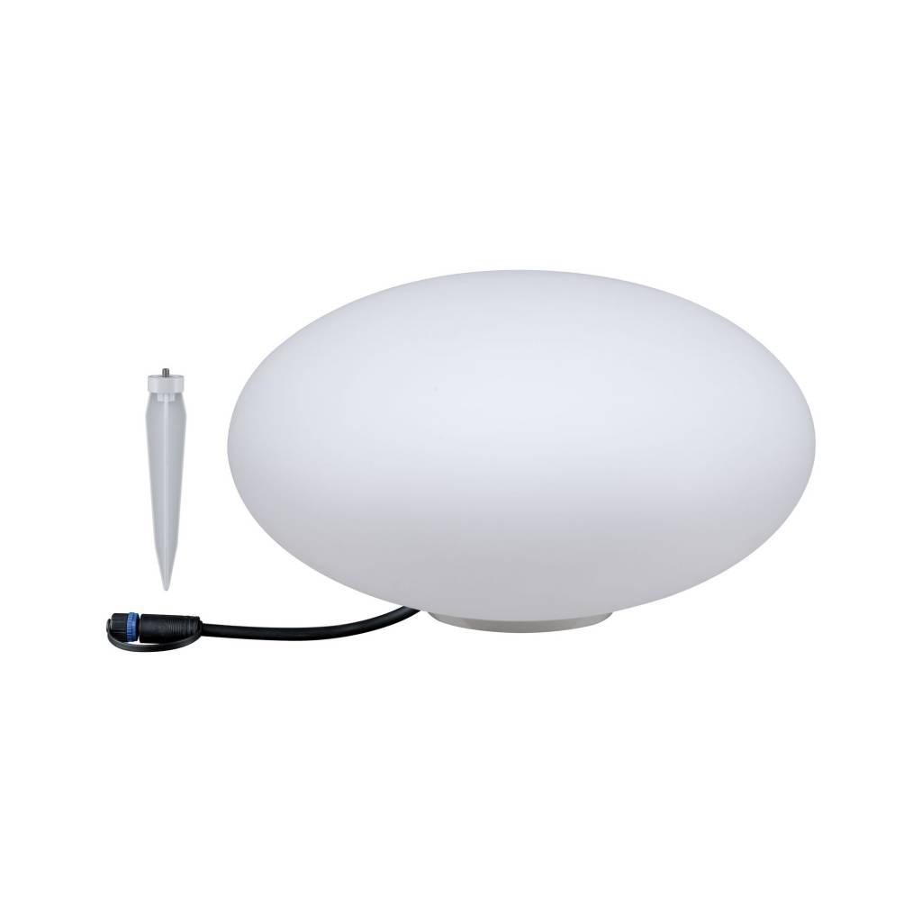 Paulmann Plug & Shine Lichtobjekt Stone IP67 3000K 24V Durchmesser 35cm