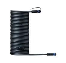 Plug & Shine Kabel IP68 10m Schwarz mit zwei Anschlussbuchsen