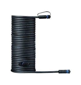Paulmann Plug & Shine Kabel IP68 10m Schwarz mit zwei Anschlussbuchsen