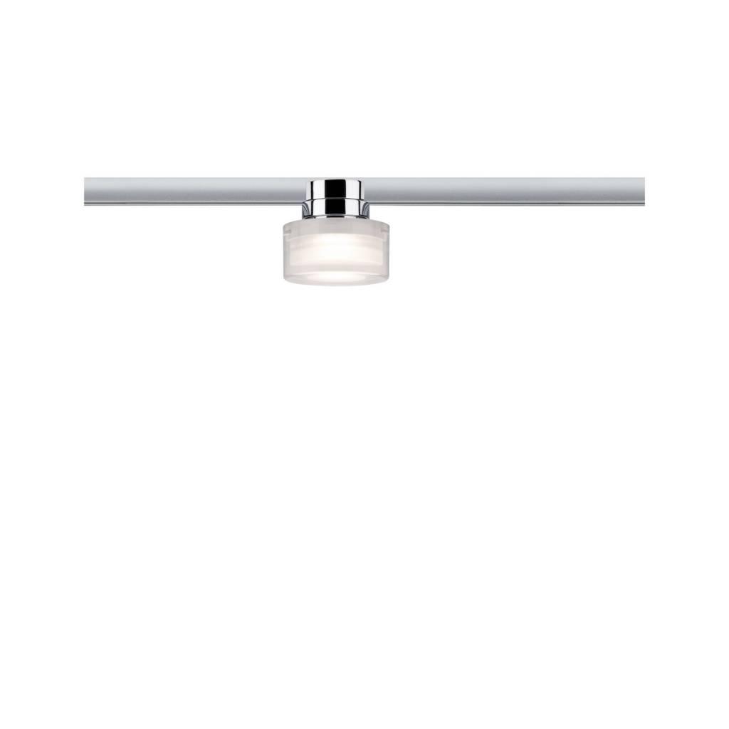 Paulmann URail LED Spot Ceiling Topa Dot 5,2W Chrom/Klar/Satin dimmbar