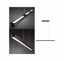 LED Pendelleuchte Lento 42W Schwarz dimmbar höhenverstellbar
