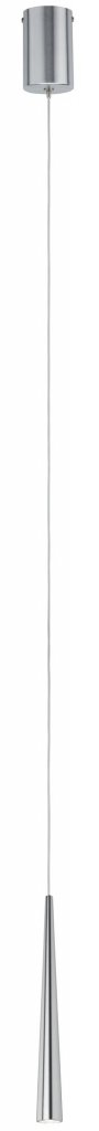 Paulmann LED Pedelleuchte Gutta 1-flammig 7W Alu gebürstet