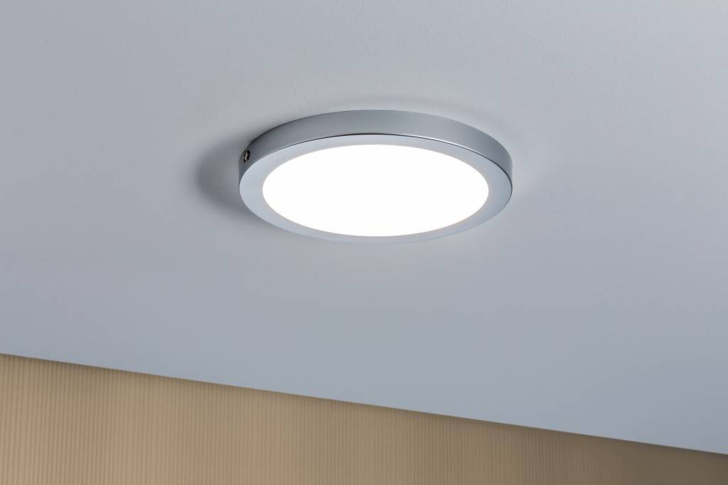 Paulmann Atria LED Panel rund 15W Chrom matt