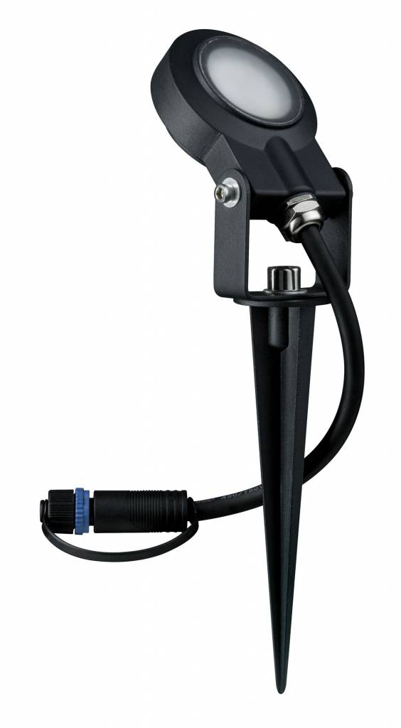 Paulmann Plug & Shine Erdspieß Sting IP67 3000K 6W 24V Anthrazit