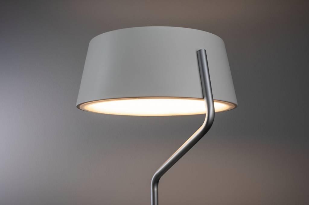 Paulmann  LED Stehleuchte Belaja 22W Weiß/Chrom matt dimmbar