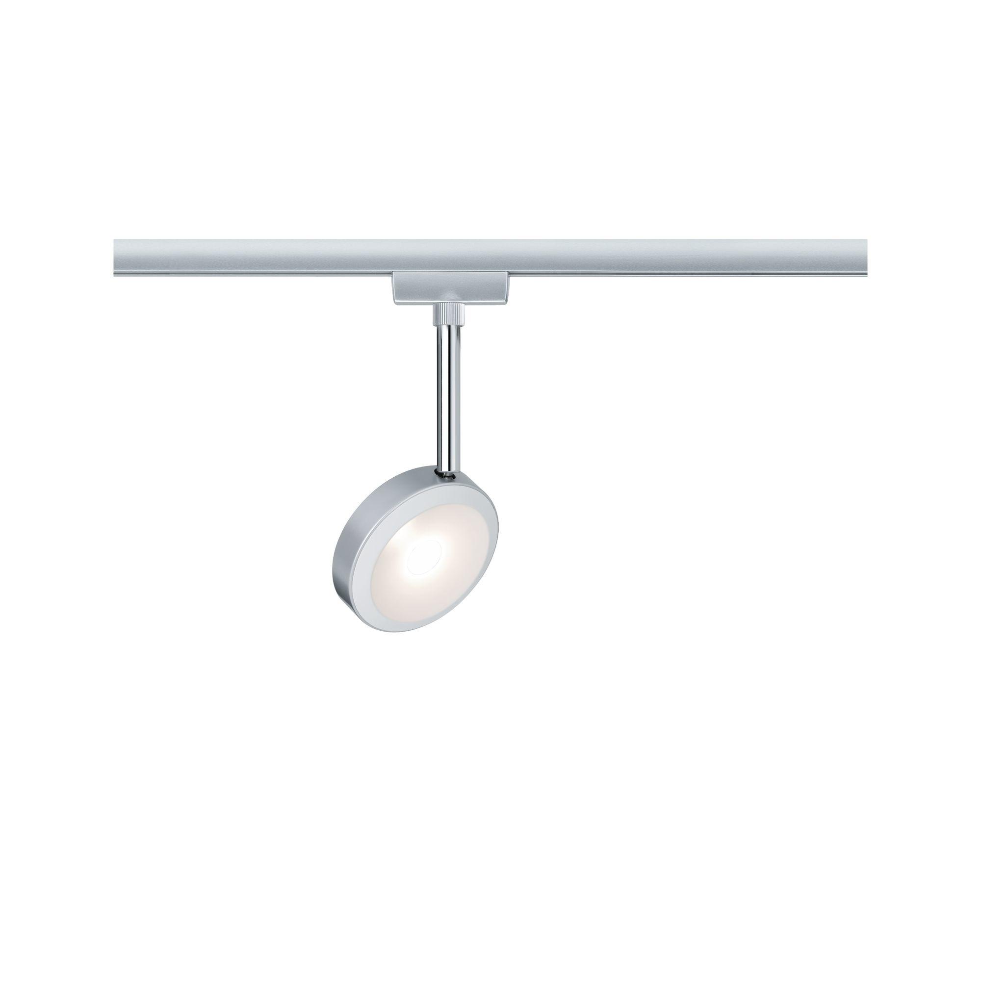 Paulmann URail Spot Discus 1x5W Chrom mattChrom 230V Metall/Kunststoff dimmbar