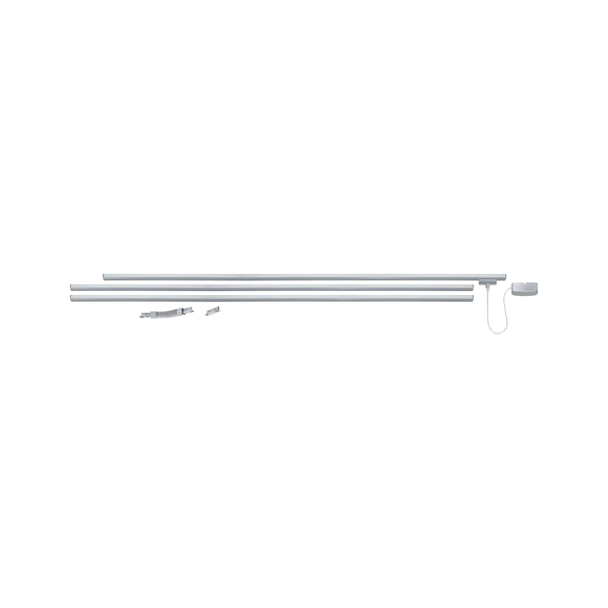 Paulmann URail System Light&Easy Basissystemmax. 1000W Chrom matt 230V Metall