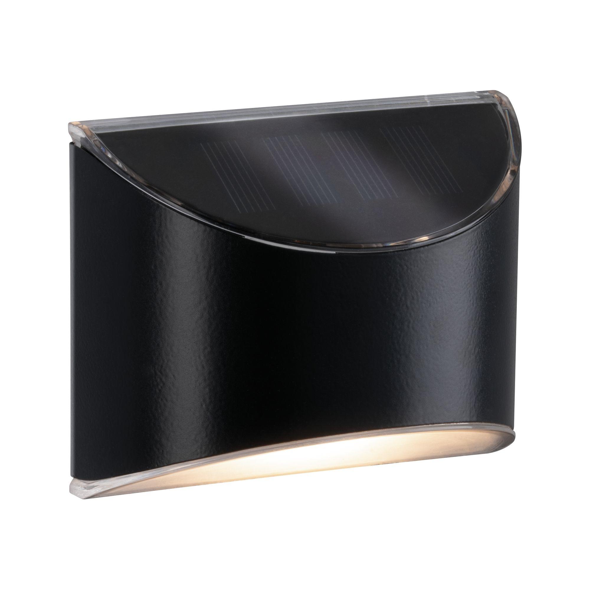 Paulmann Outdoor Solar WegeleuchteIP44 3000K Metall/Kunststoff Grau