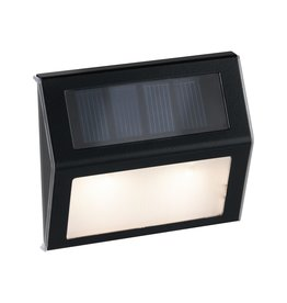 Paulmann Outdoor Solar Stufen/TreppenleuchteIP44 3000K Metall/Kunststoff Grau