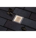 Paulmann Outdoor Solar BodenEBL Aron IP67 3000KMetall Bewegungsmelder 5/40lm 10*10cm