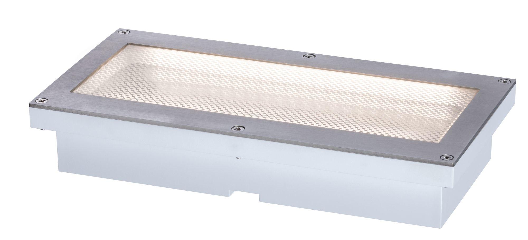 Paulmann Outdoor Solar BodenEBL Aron IP67 3000KMetall Bewegungsmelder 10/80lm 20*10cm