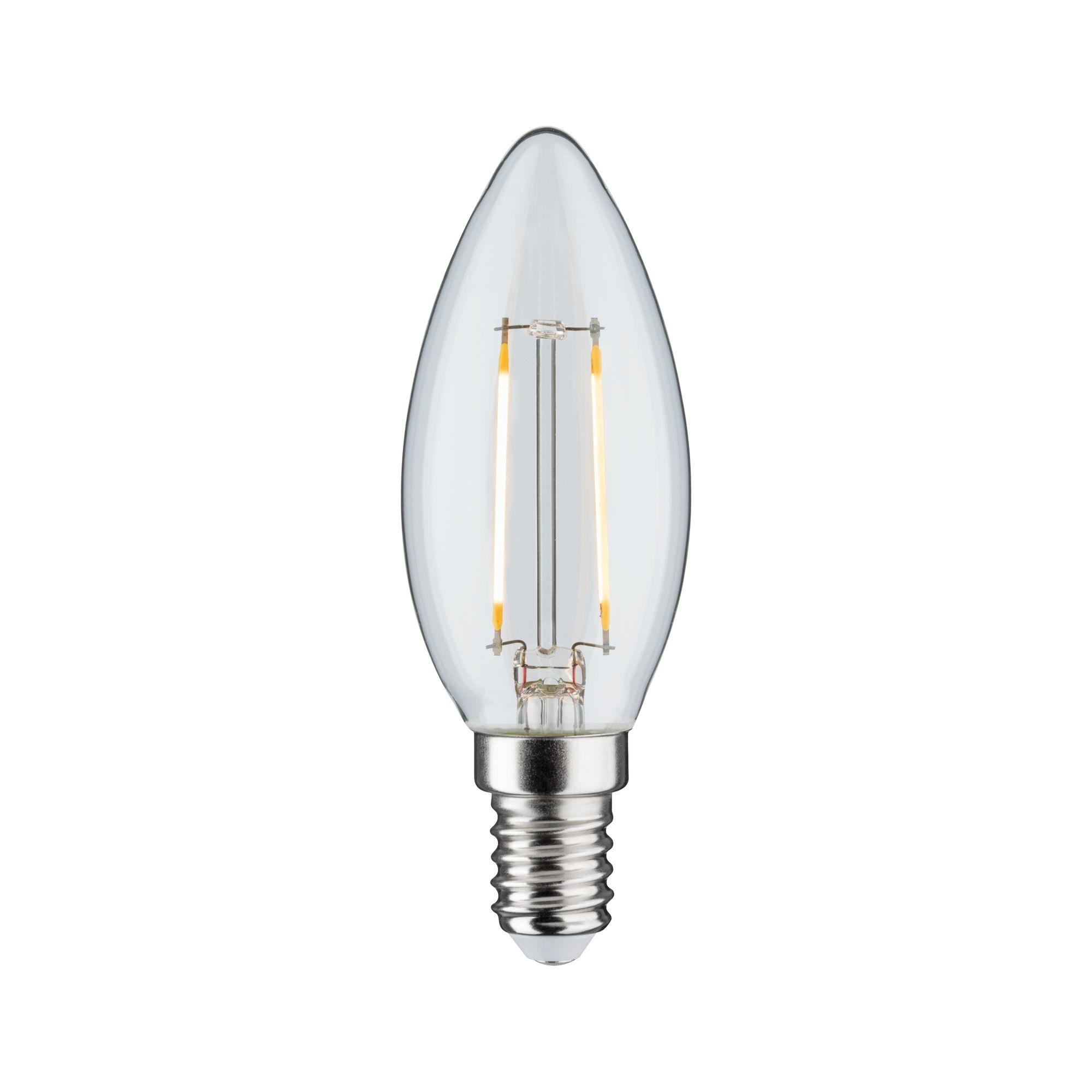 Paulmann LED Kerze 2,5W E14 Klar 230 V 3-Stufen-dimmbar