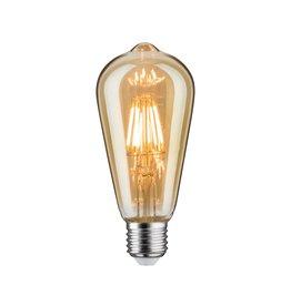 Paulmann LED Vintage Rustika 6W E27 230V GoldDimmbar 1700K