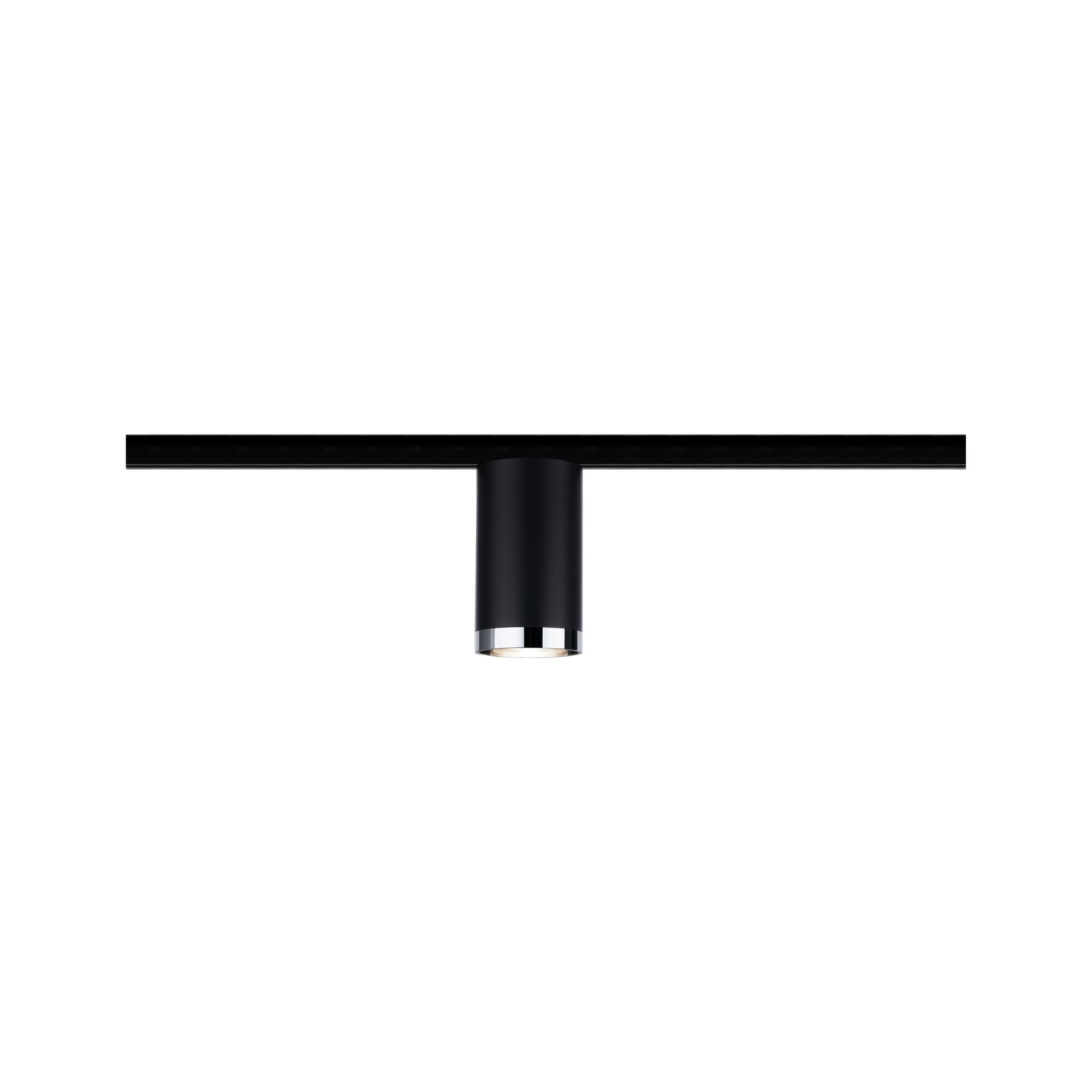 Paulmann URail Spot Tube max 10W GU10 Schwarz matt/Chrom 230V