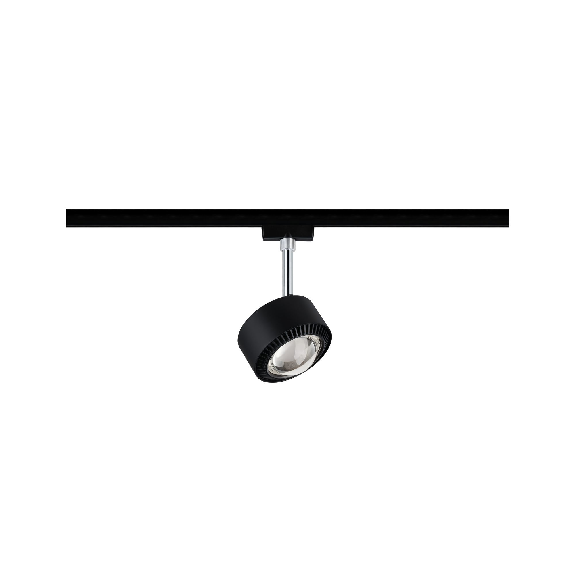 Paulmann URail Spot Aldan 1x9W Schwarz matt/Chrom 230V Met/Kst 2700K dimmbar