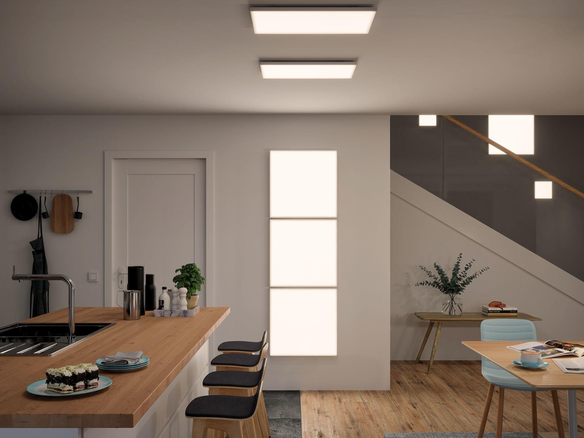 Paulmann WallCeiling Velora LED Panel 595x295mm 29W Weiß matt 230V Metall