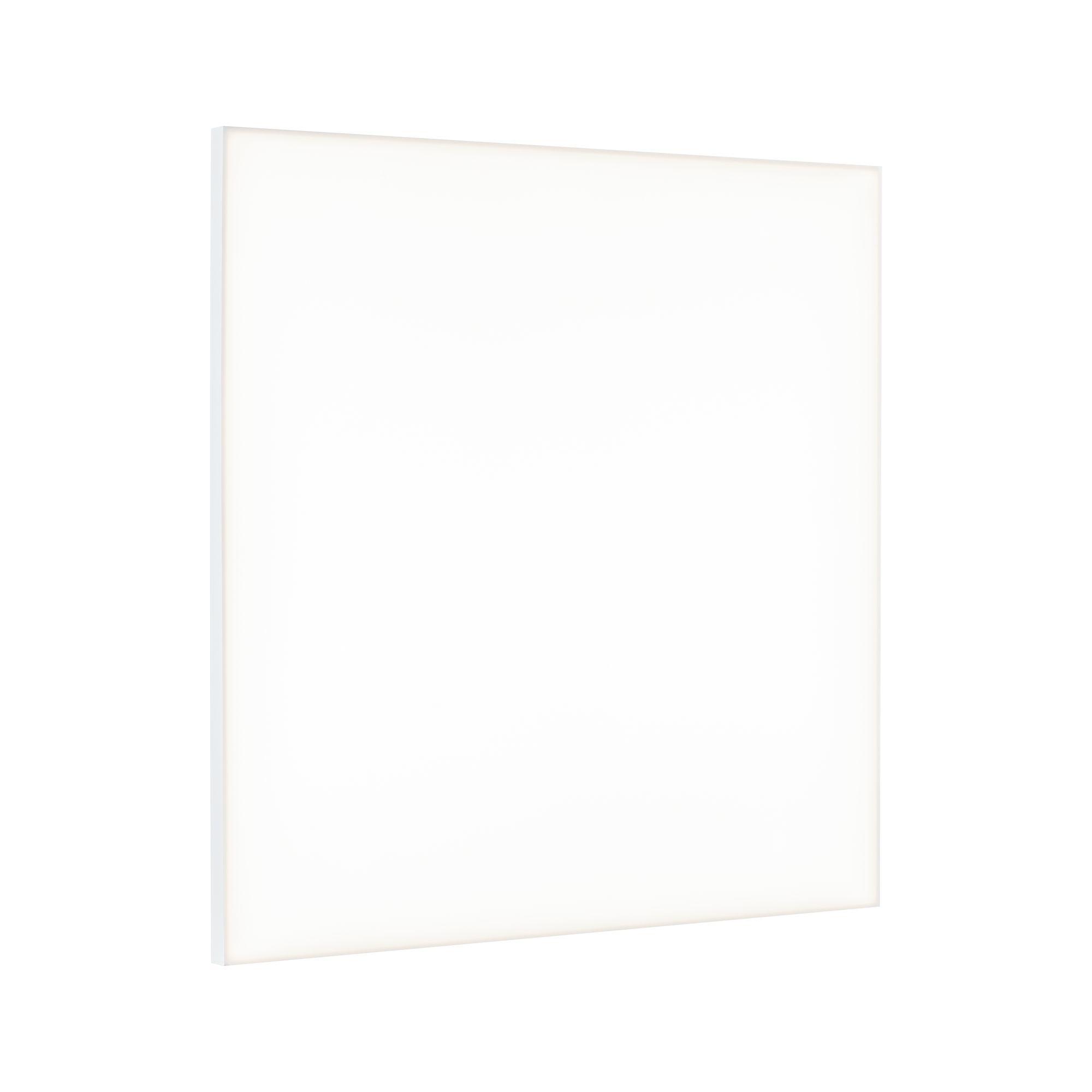 Paulmann WallCeiling Velora LED Panel 595x595mm 34W Weiß matt 230V Metall