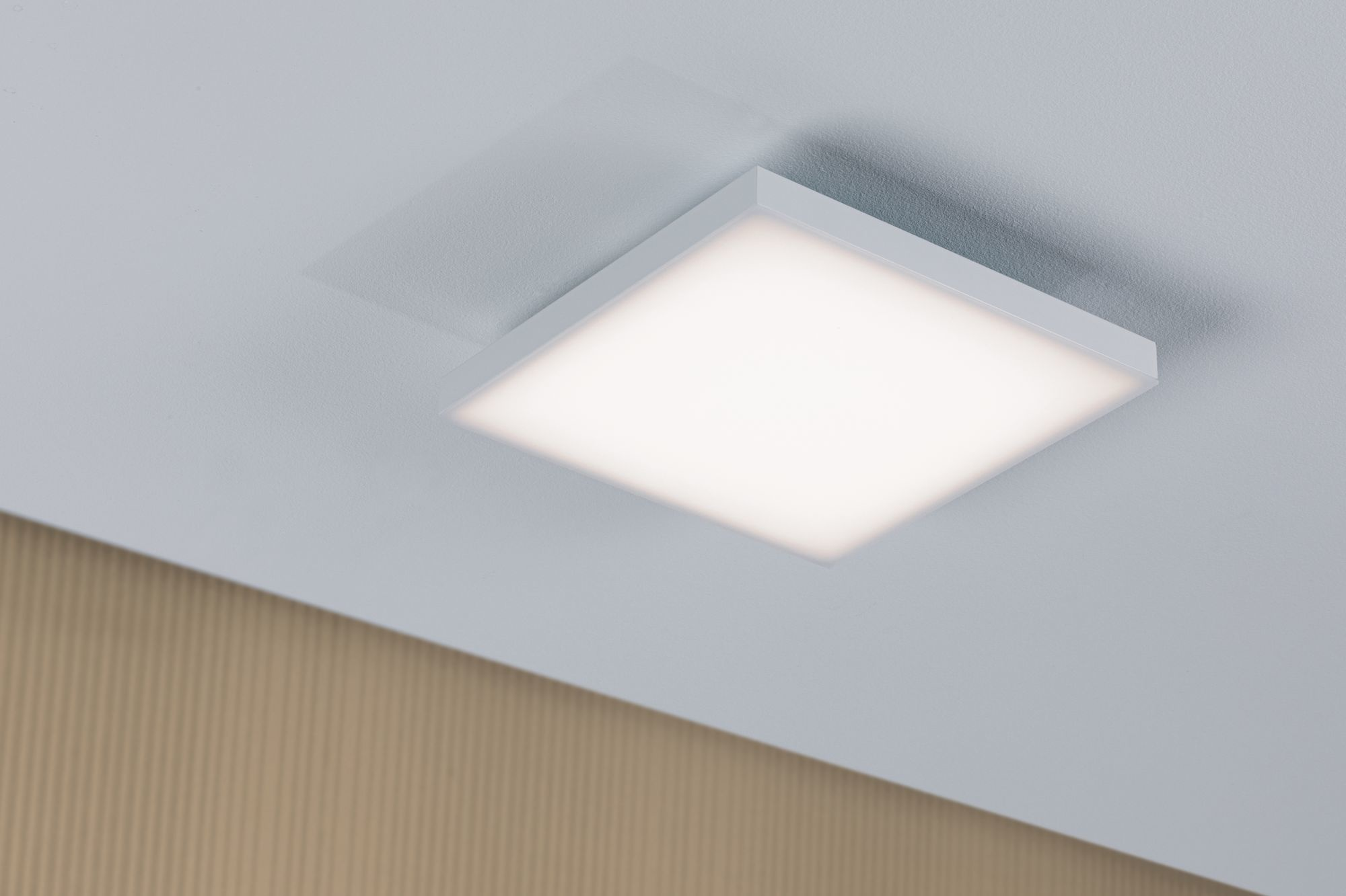 Paulmann WallCeiling Velora LED Panel 225x225mm 13W Weiß matt 230V Metall