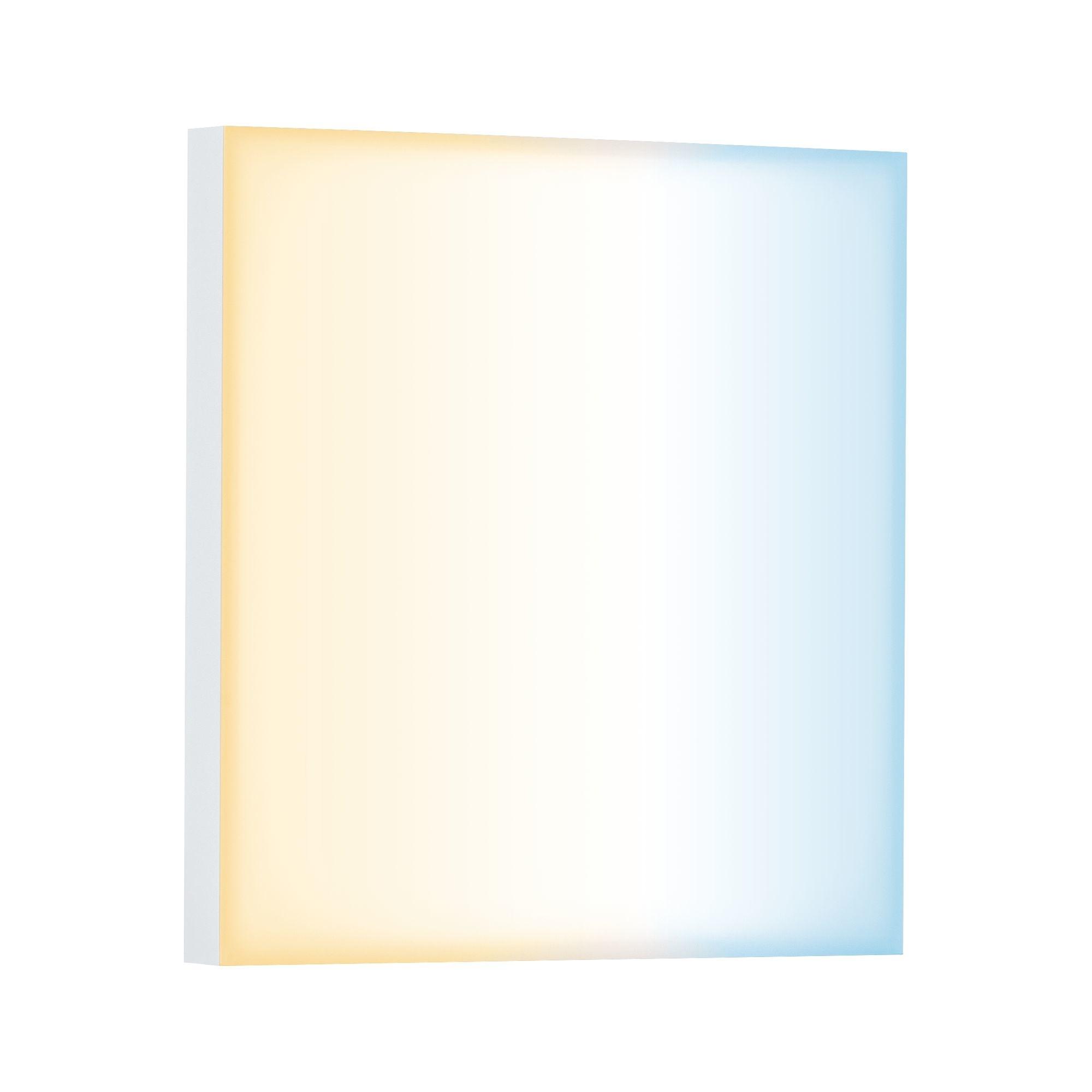 Paulmann  LED Panel Velora SmartHome Zigbee 225x225mm 8,5 W Weiß matt Tunable White