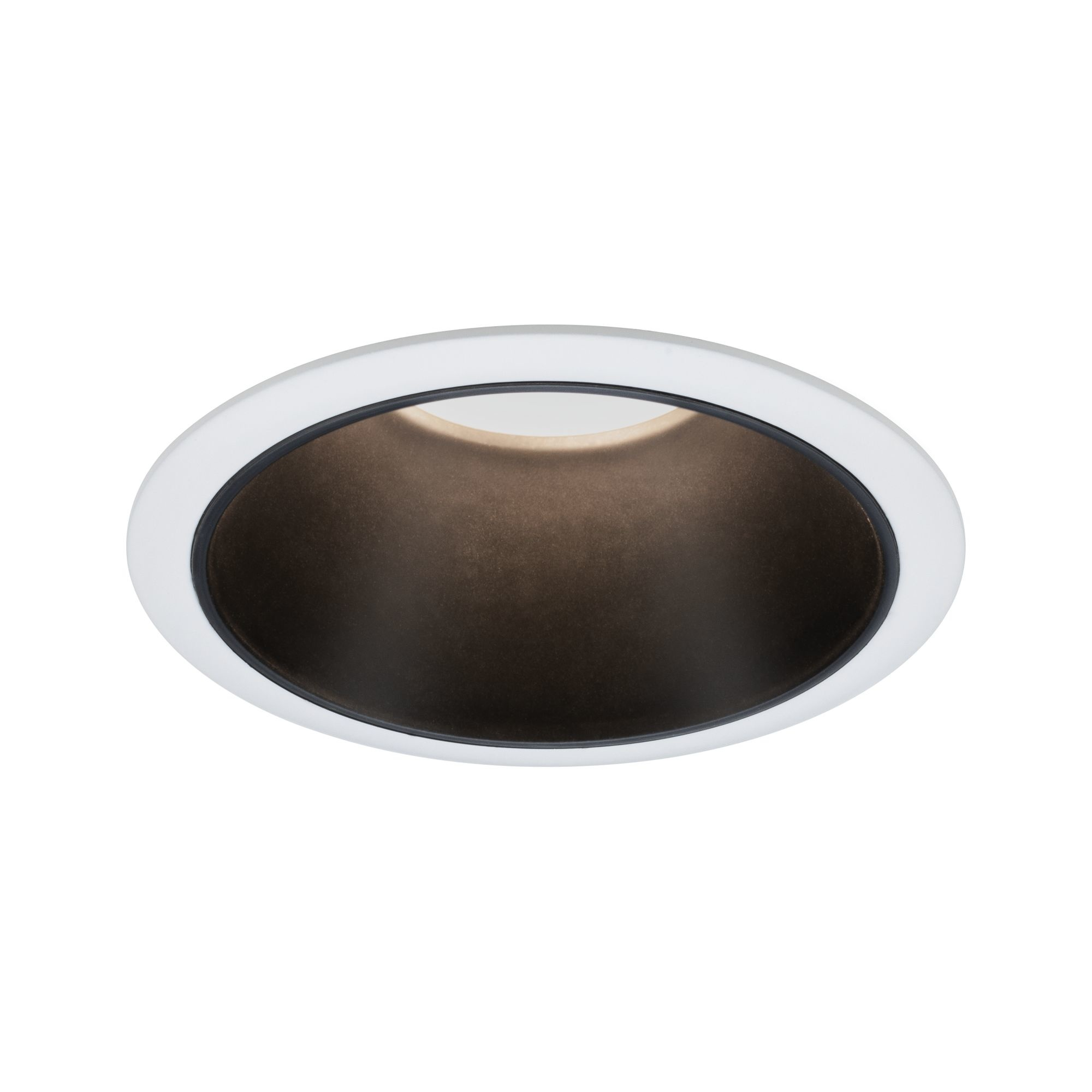 Paulmann EBL Set Cole Coin 3StepDim rd starr LED 1x6,5W 2700K 230V weiß/schwarz matt/Kst