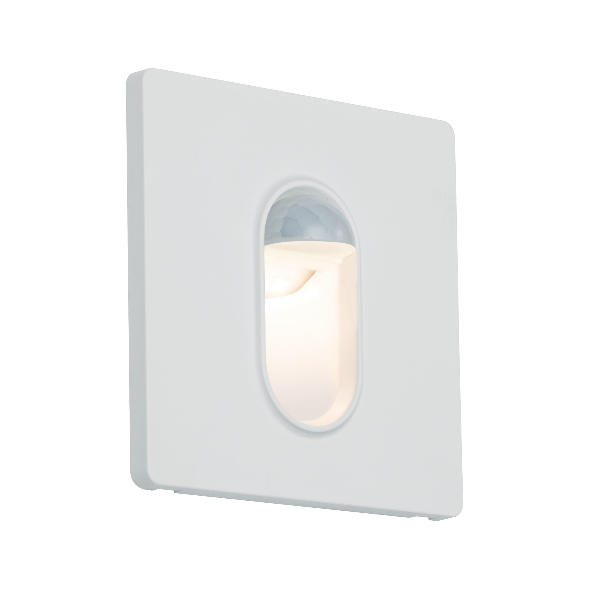 Paulmann Wand EBL Set Sensor eckig 1x2,7W 2700K230V Weiß/Kunststoff