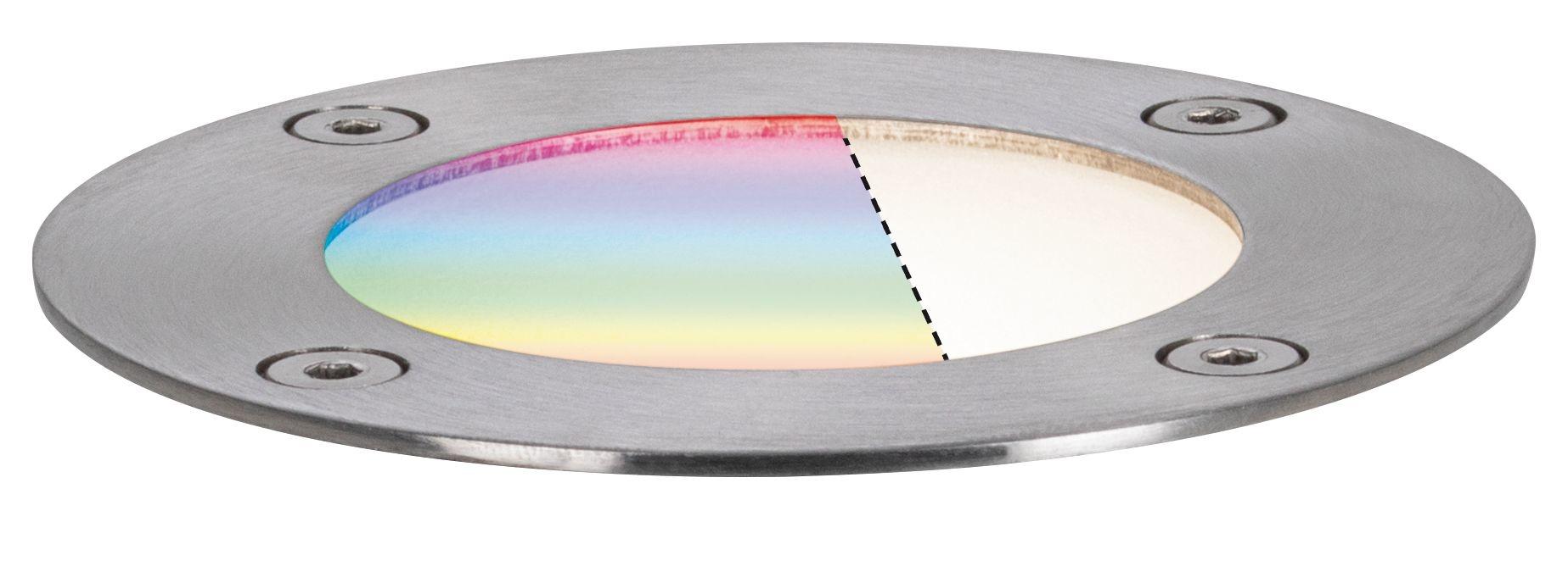 Paulmann Plug & Shine Bodeneinbauleuchte IP65 RGBW 24V ZigBee