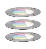 Paulmann Plug & Shine Basisset Bodeneinbauleuchte IP65 RGBW 24V ZigBee