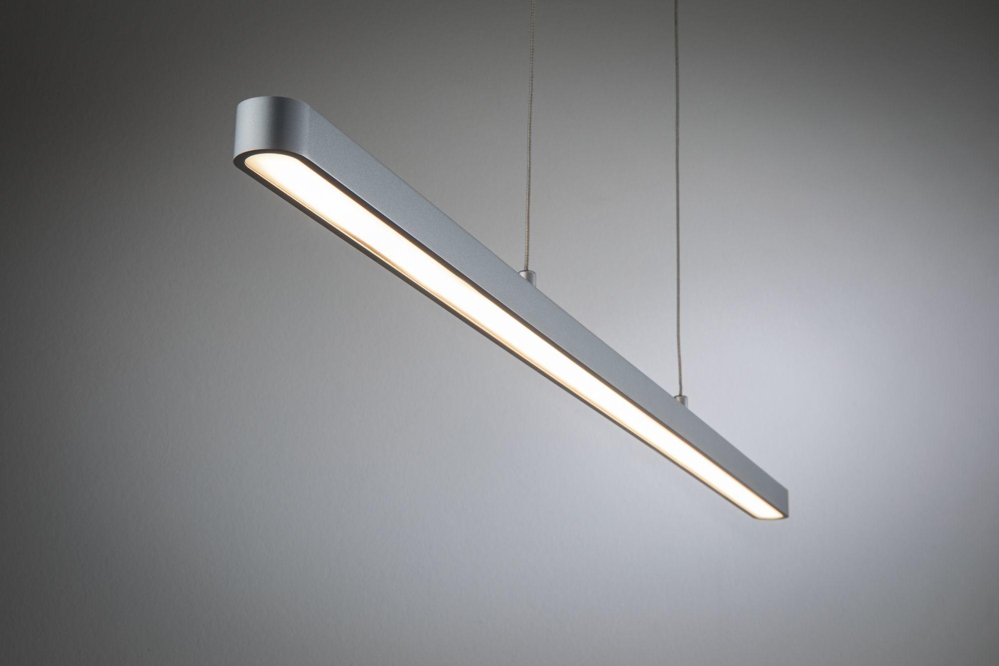 Paulmann URail LED Pendel Lento Chrom matt 41W dimmbar