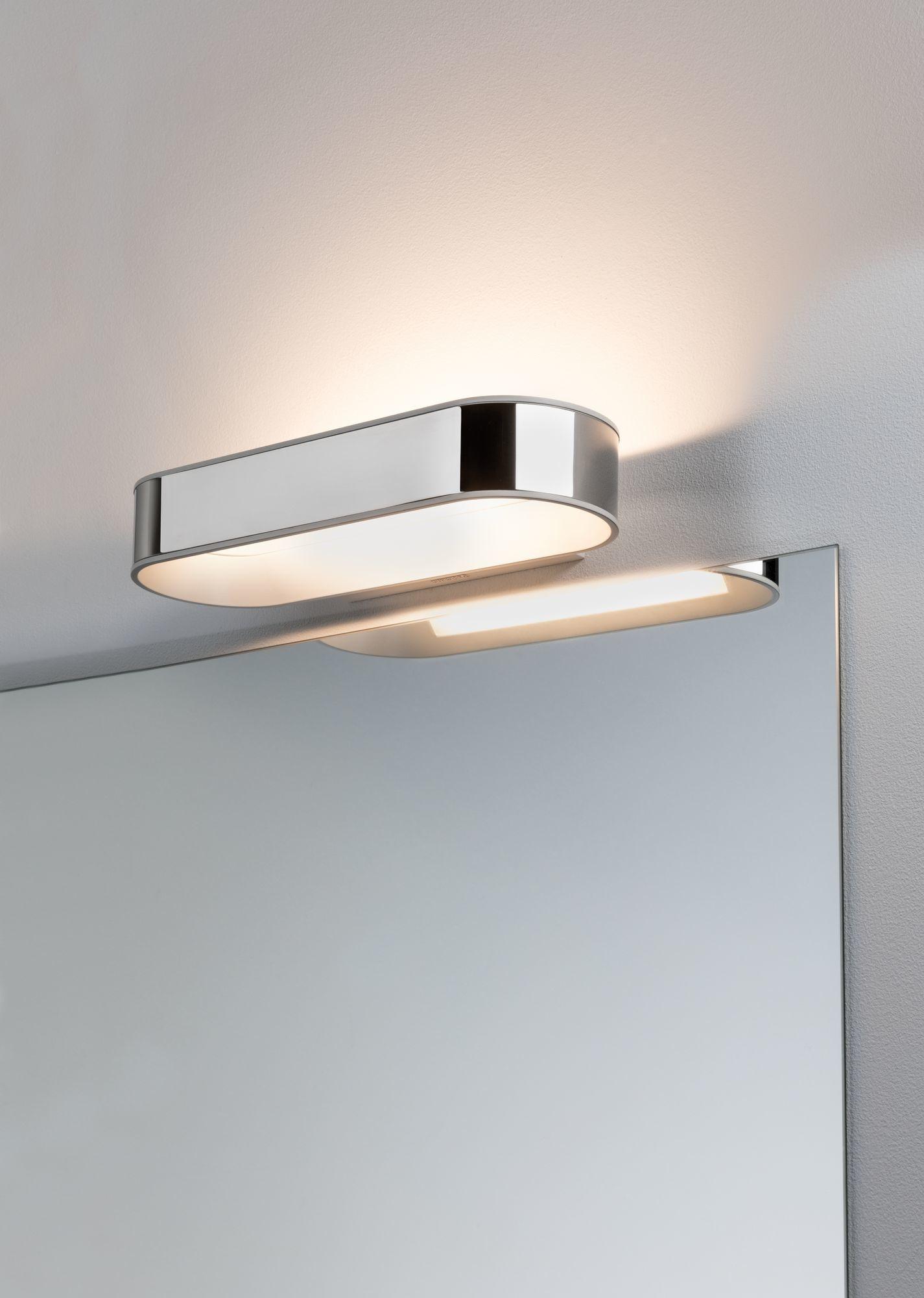 Paulmann LED Wandleuchte Agena IP44 20W Chrom/Weiß matt dimmbar