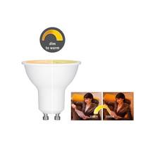 LED 6 Watt GU10 1.800 - 3.000K dim to warm