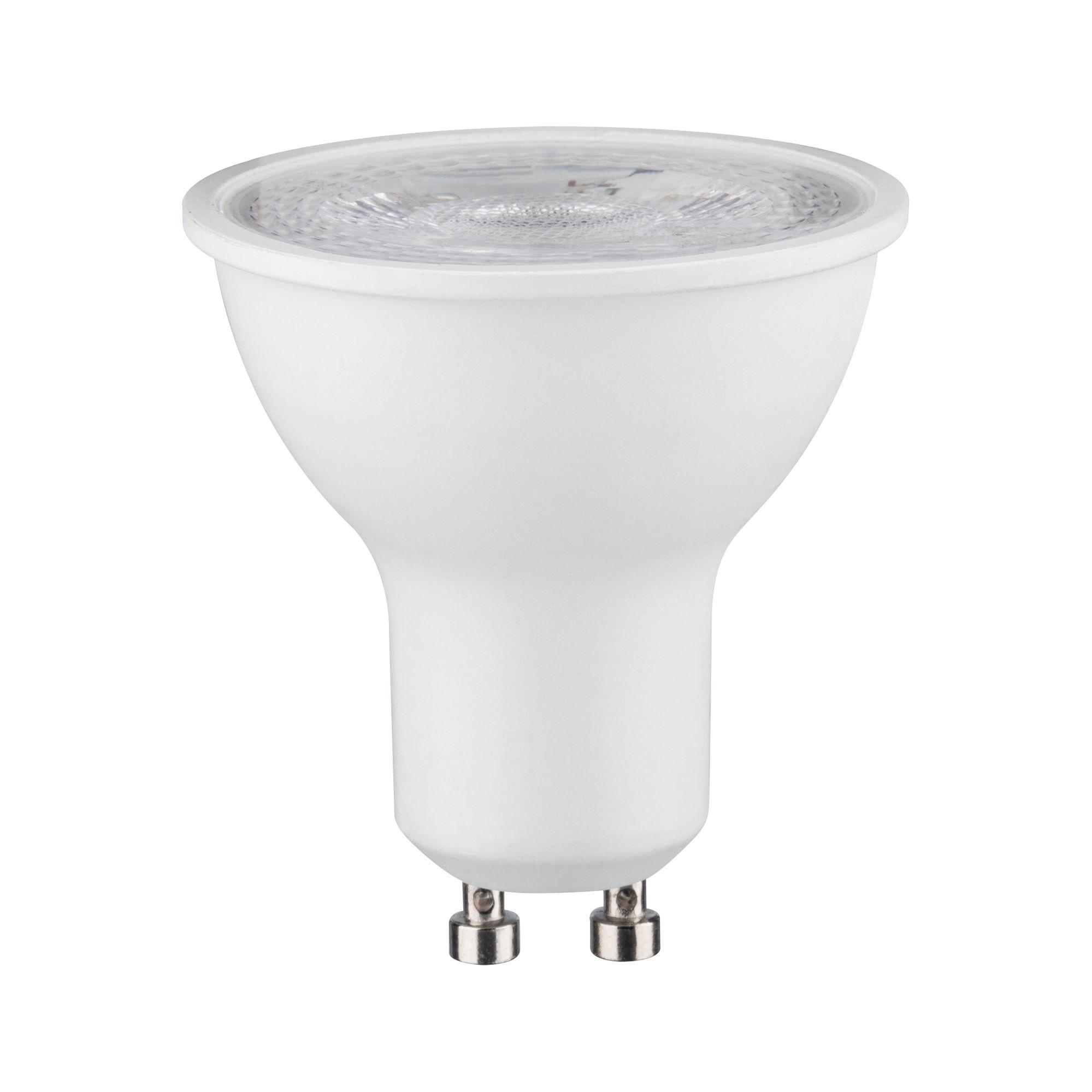 Paulmann LED Reflektor 7 Watt Weiß matt GU10 2.700K Warmweiß