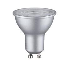 LED Reflektor 7 Watt Chrom matt GU10 2.700K Warmweiß