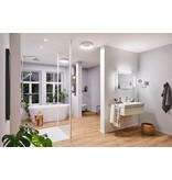 Paulmann HomeSpa LED Kosmetikspiegel Jora IP44 Chrom#Weiß#Spiegel 3,3W WhiteSwitch 2.700K