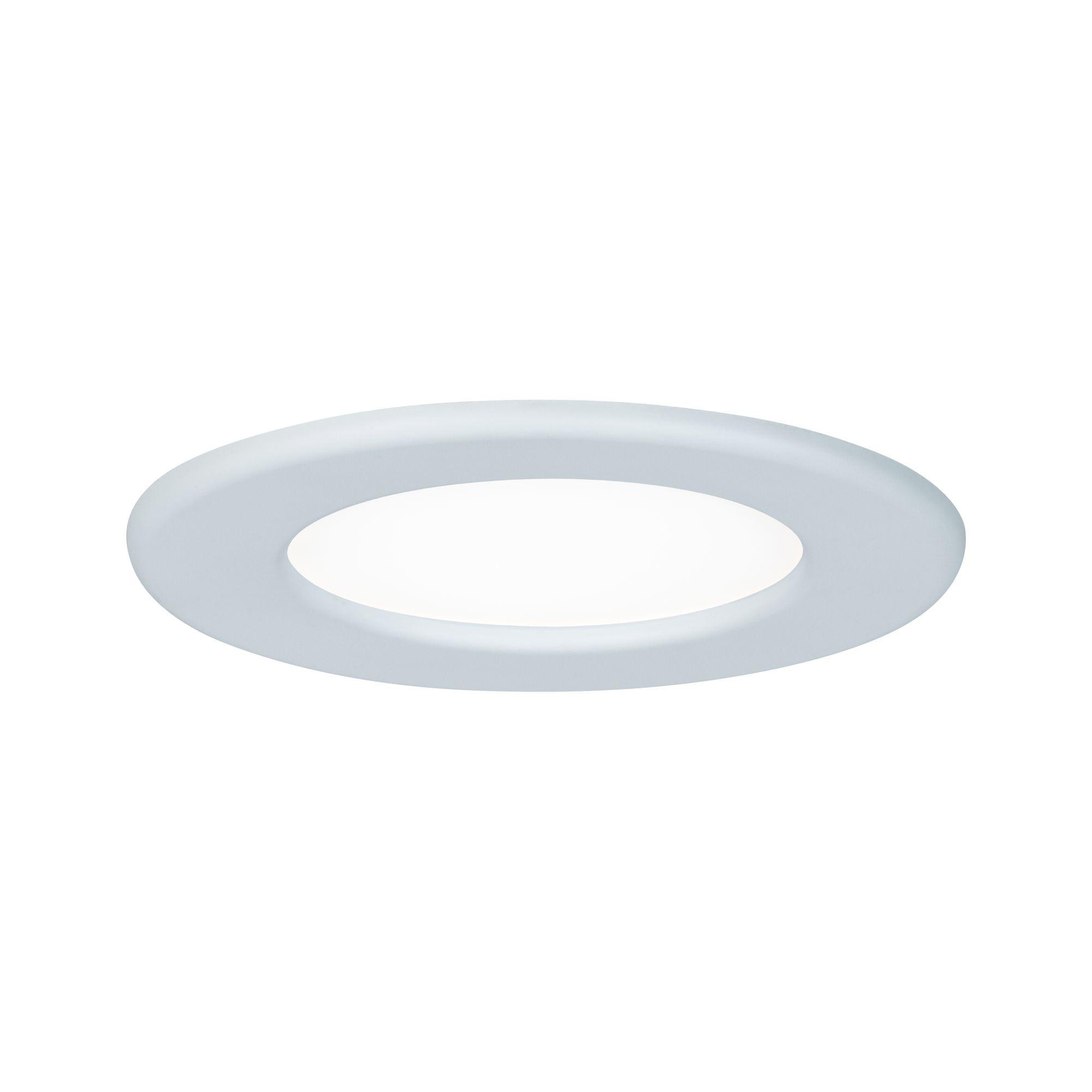 Paulmann LED Einbaupanel rund 115mm 6W 4.000K Weiß