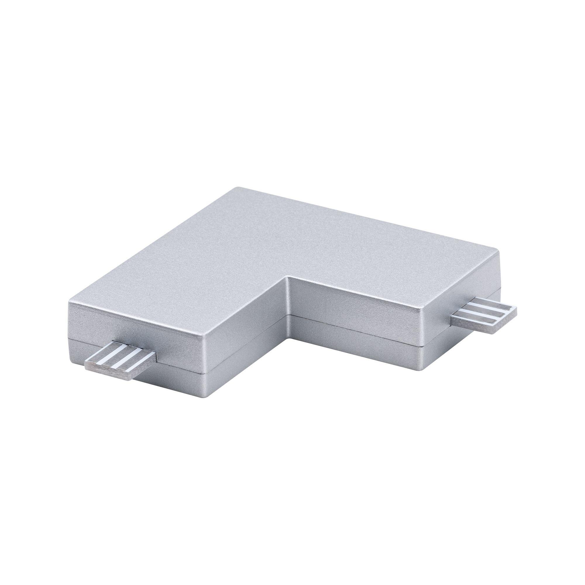 Paulmann Möbelleuchten Clever Connect Eck-Verbinder Barre Chrom matt 12V