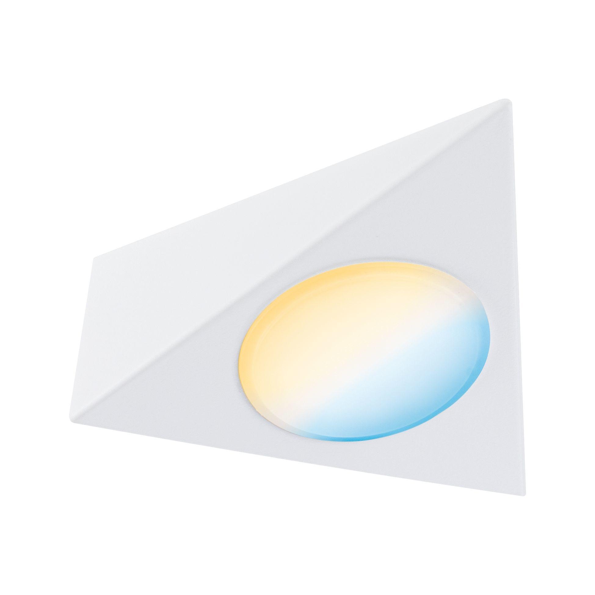 Paulmann Möbelleuchten Clever Connect Spot Trigo Weiß matt 12V 2,1W TunableWhite 2.700K