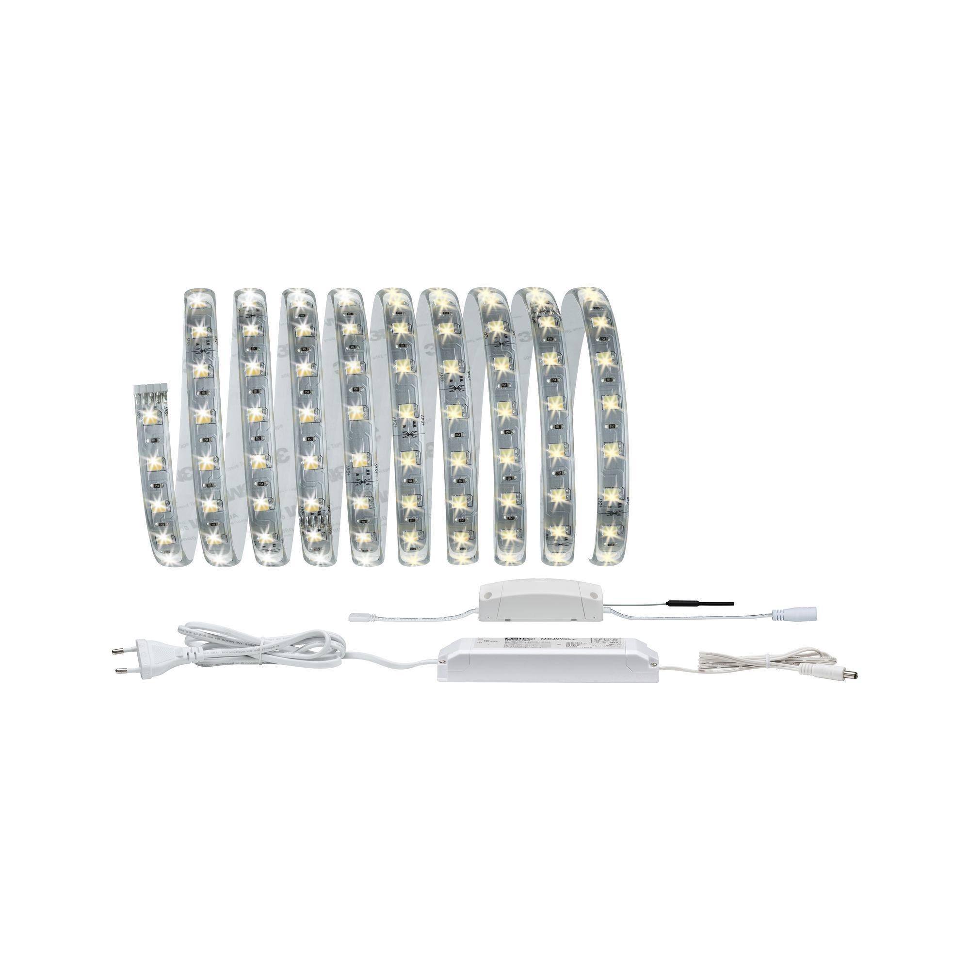 Paulmann SmartHome ZB Reflex LED Strip Set 3mTunW 20W 230/24V Weiß/Kst