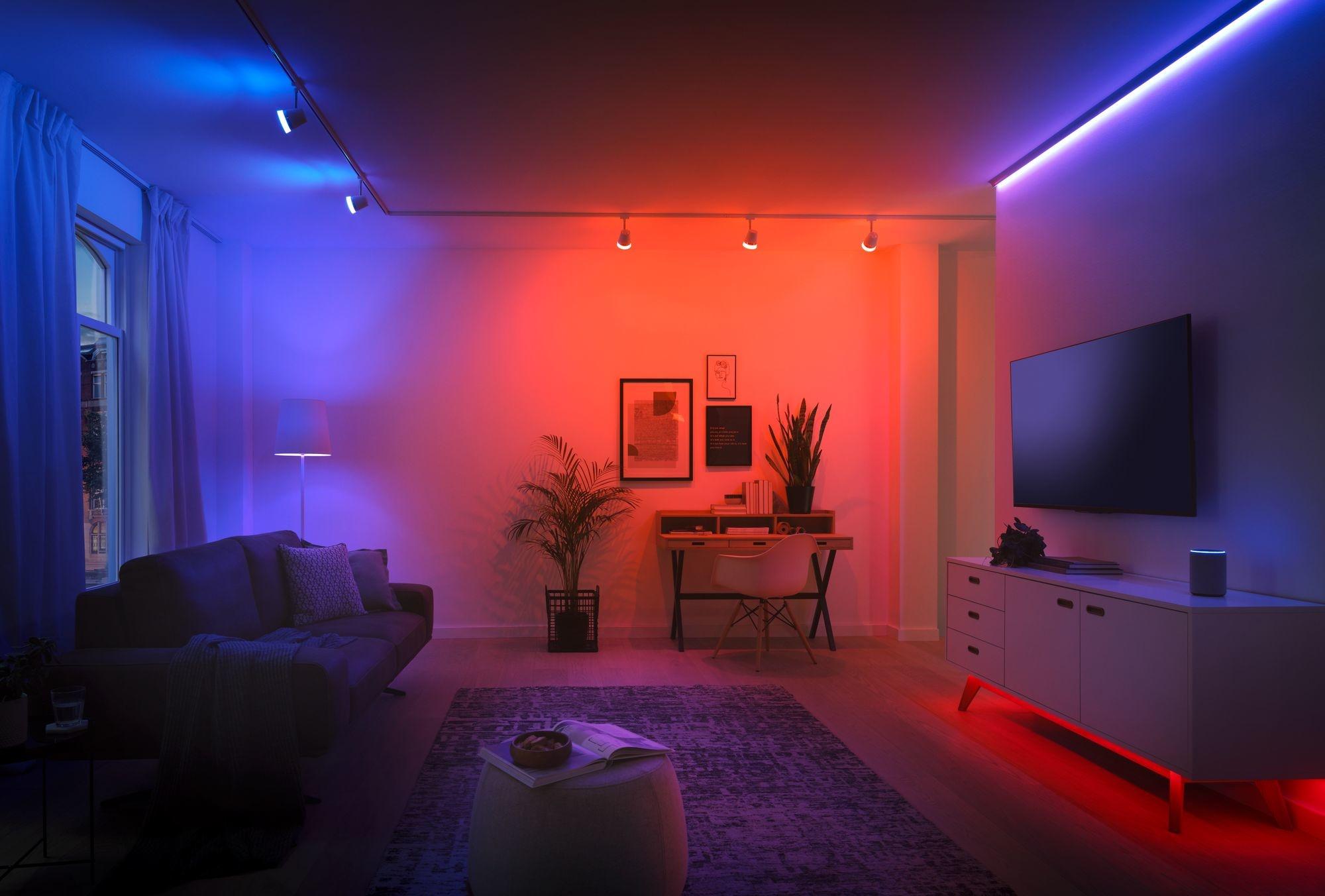 Paulmann SmartHome ZB Reflex LED Strip Set 3mRGBW 20W 230/24V Weiß/Kst
