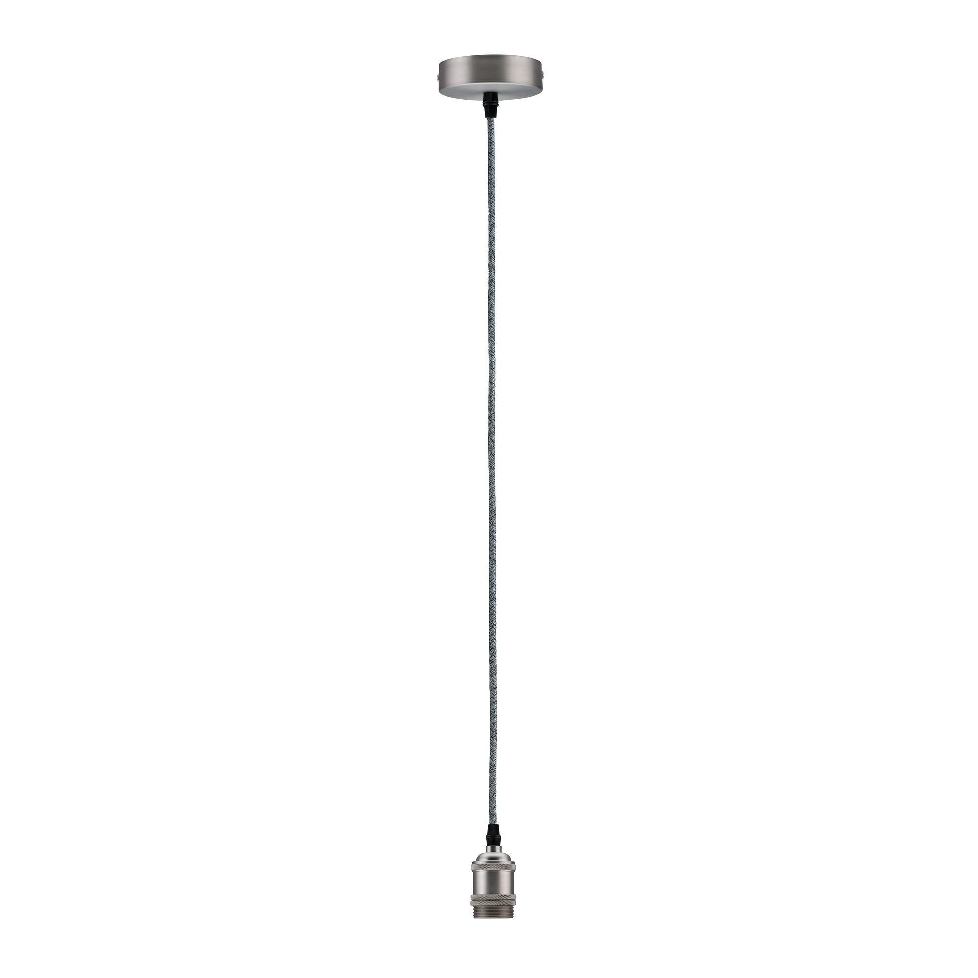 Paulmann Neordic Eldar Pendelleuchte max1x20WE27 Grau/Nickel geb 230V Metall