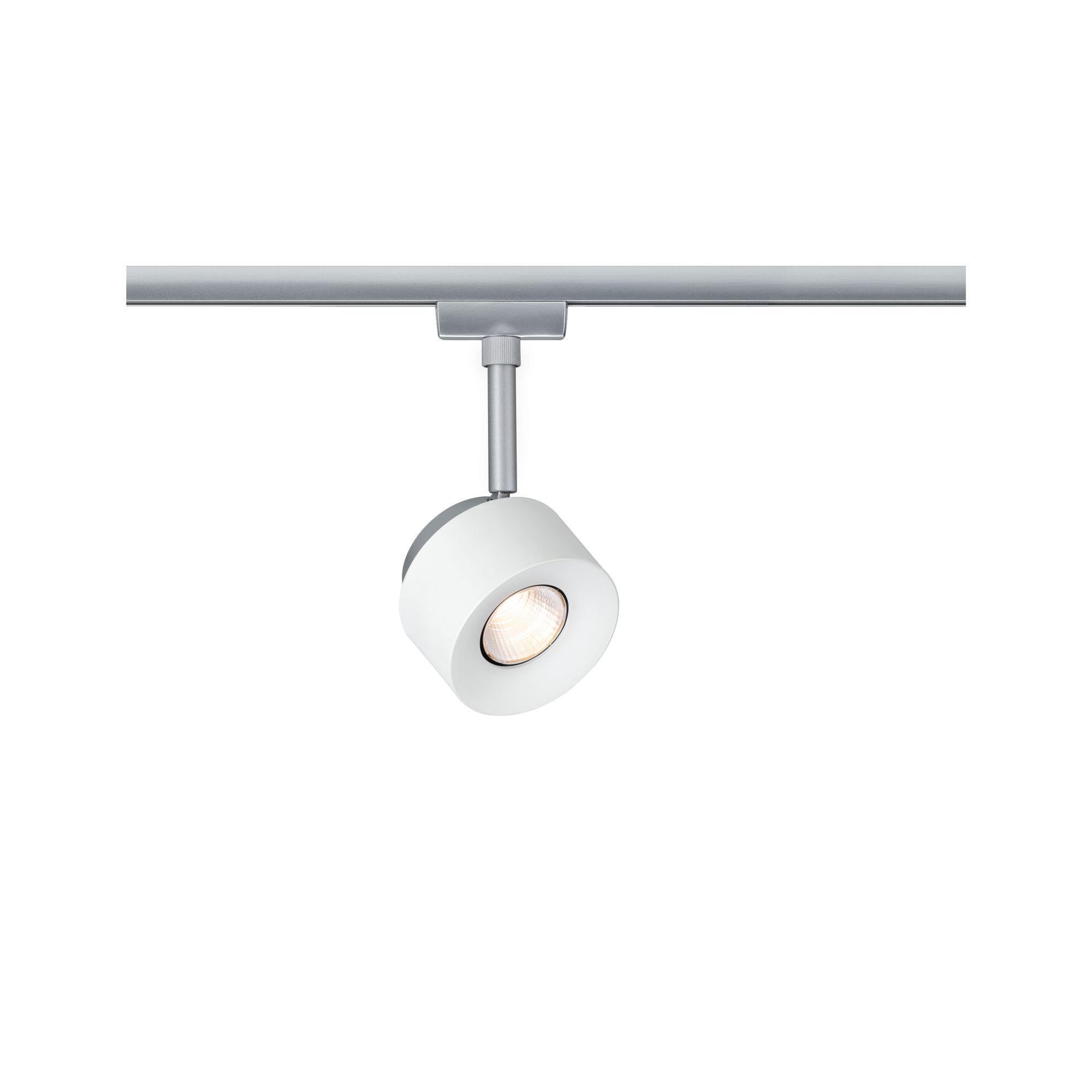 Paulmann URail LED-Spot Pane Weiß/Chrom 7,4W 2.700K