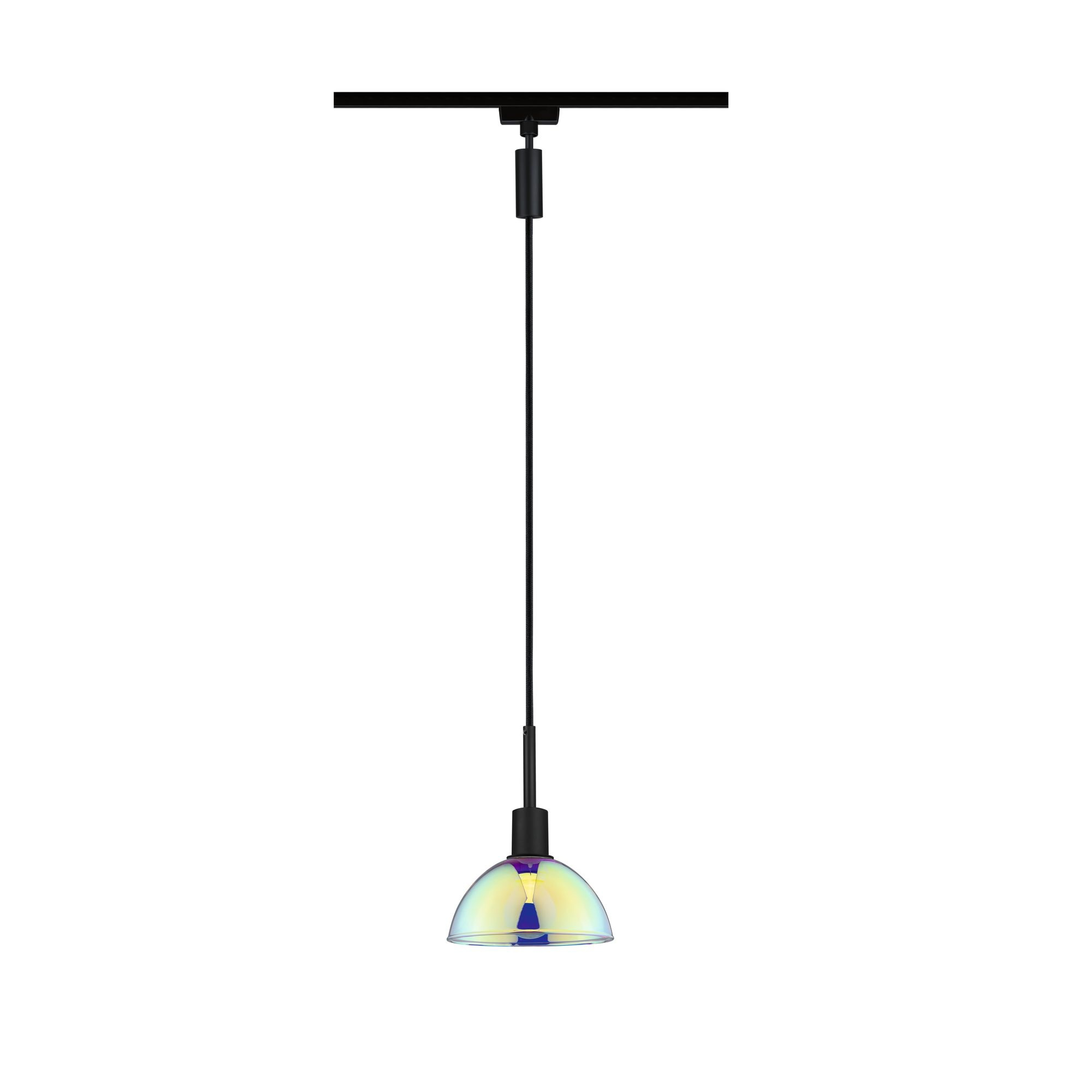 Paulmann URail Pendel Sarrasani Schwarz matt#Dichroic max. 20W E14 ohne Leuchtmittel