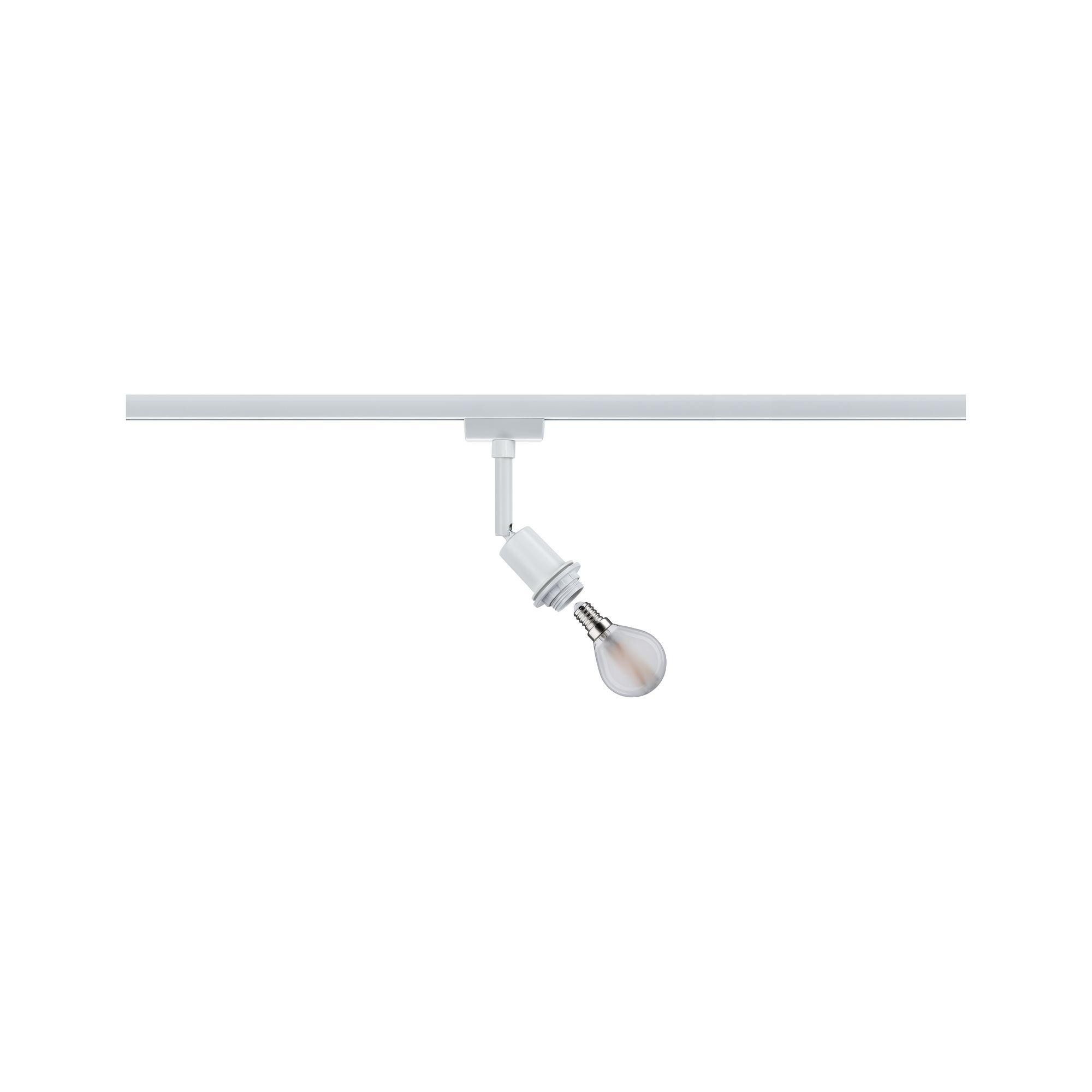Paulmann URail DecoSystems Spot Weiß max. 1x20W E14 ohne Leuchtmittel